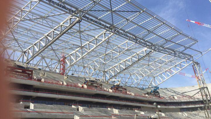 sécurité gros chantier de construction