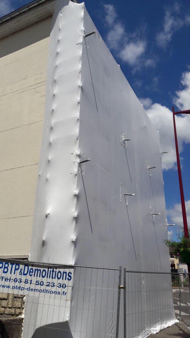 filet de protection facade