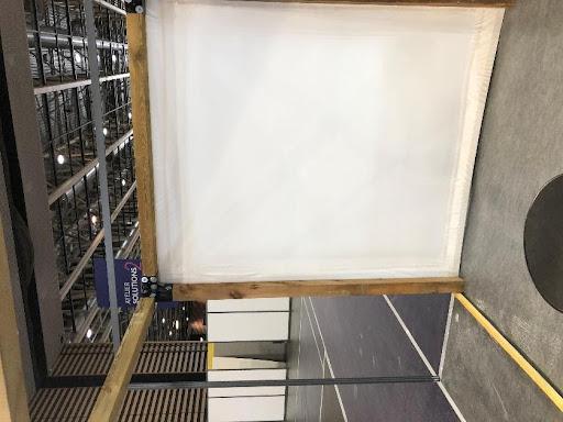 film thermoretractable sous toiture amiantée
